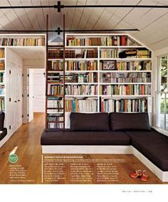 Bookcase- I've always wished for a home library, this would be perfect!!