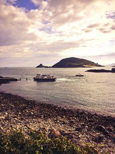 Twitter / carlward: Beautiful evening in @Her Mione Island, ...