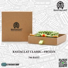 ร้าน CTWO SKATE SHOP  จำหน่าย RASTACLAT CLASSIC : FROZEN (Glow in the dark)  ราคา 790 บาท (ส่งฟรี EMS)  Contact : ติดต่อสั่งซื้อ  📞 : 089-200-8340 นุ www.ctwoskateshop.com สั่งซื้อทางLine : ctwo-skate-shopsamut Instagram : @ctwoskateshop Facebook : https://m.facebook.com/C2SkateShop    #CTWOSKATESHOP