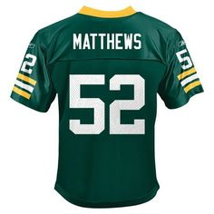 Clay Matthews Green Bay Packers Reebok Youth Jersey Size 8 S Team Apparel  by Reebok.  37.99 21f1f8064