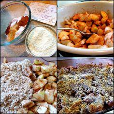 Making apple crisp | Such a Mama