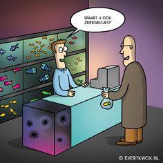 Ik zei gisteren nog tegen m'n vrouw... #cartoon - Evert Kwok