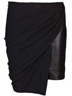 ALEXANDER WANG - Draped skirt