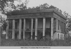 Bocage plantation on River Road near Burnside Louisiana circa 1940 :((
