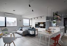 A Scandinavian Style Apartment Design Combines With Chic and Stylish Decor