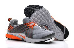 Nike Lunar Presto Grey Orange Women's Shoes