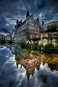 Ghent, Belgium.  Photo by Barry Mangham.
