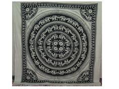 Indian Mandala Tapestry Tapestry Wall Hanging by Ayatcreation, $21.99