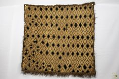 Kuba Cloth ( Shoowa ) Raffia Textile - Congo DRC Congo, Embroidery Thread, Animal Print Rug, Weaving, Textiles, Stitch, Ebay, Clothes, Outfits