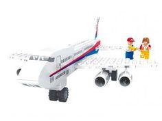 Bee Blocks Avião de Passageiros 78 Peças - Bee Me Toys