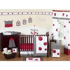 Sweet Jojo Designs 11pc Little Ladybug  Crib Set