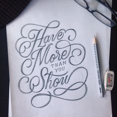Morning sketch #type #typography #design #art #drawing #creative #typematters #goodtype #handmadefont #handlettering #lettering #showusyourtype #illustration #morning #thursday #typographyinspired #fabercastell #sketch by kennycoil