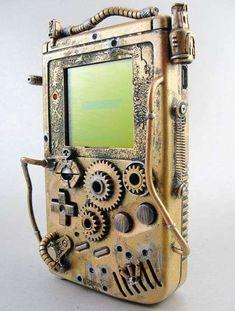Artist Turns a Game Boy into Victorian Treasure #Nintendo trendhunter.com