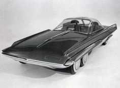 Ford Seattle-ite XXI concept car was very futuristic for its era. Some of the features were: trip computer, navigation and traffic information systems, fuel cell power and steer-by-wire technology