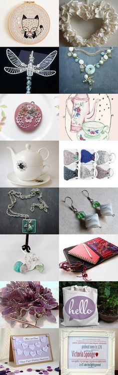 Pretty Pastels Treasury Tuesday by Sarah Evans on Etsy--Pinned with TreasuryPin.com