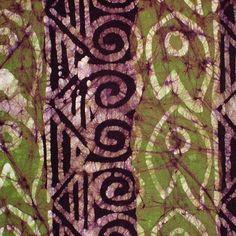 African Wax Batik #153 | West African Batik Fabric