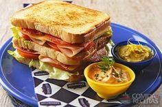 Receita de Club sanduwich em receitas de paes e lanches, veja essa e outras receitas aqui!