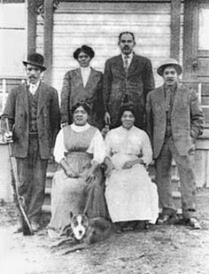 African American mining family, Roslyn, ca. 1888. Courtesy Ellensburg Public Library Local History Collection