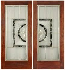 if you are choosing the exterior door the main thing that you should take into the consideration that the door is made by which type of material the most reliable and effective door are often made from fiberglass or steel that are available at daryn weatherman with exta feature and resonable price.