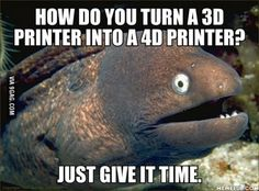 Turn a 3D printer into a 4D printer