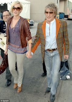 Rod Stewart's Daughter Renee | What will Rod Stewart say? Daughter Kimberly is pregnant after secret ...