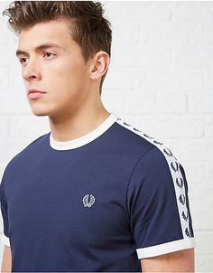 Fred Perry Taped Retro Ringer T-Shirt | ARK