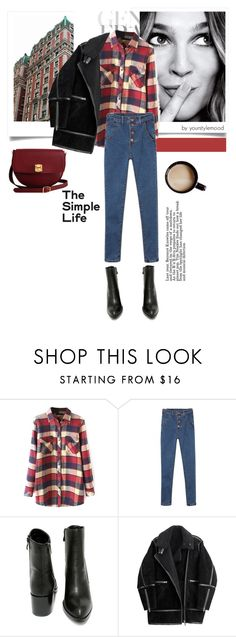 """Tuesday outfit"" by yourstylemood ❤ liked on Polyvore featuring Very Volatile, H&M, The Code, women's clothing, women, female, woman, misses, juniors and StreetStyle"