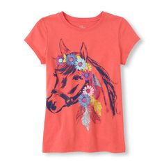 NWT HORSE Tee~Sparkley PONY~Short sleeve~Girl New~GIFT western equine equestrian…