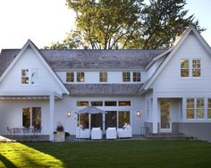 Modern Colonial Exterior Design, Pictures, Remodel, Decor and Ideas - page 2