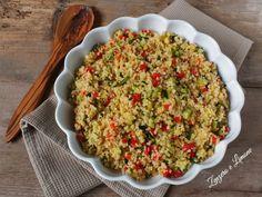 Bulgur+alle+verdure+-+ricetta+vegana