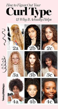 With tons of curly hair products flooding the market, it's harder than ever to find what's right for you. The guiding light? Your hair type.