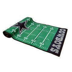 Dallas Cowboys Football Field Rug | Home Decor | Home & Office | Accessories | Cowboys Catalog | Dallas Cowboys Pro Shop