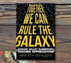 campaign posters Poster Great for Advertising for your Teacher Appreciation Week Personalize with Date and School Name School Campaign Posters, Student Council Campaign, Student Council Posters, Campaign Slogans, Star Wars Classroom, Classroom Themes, Classroom Projects, Kid Projects, Music Classroom