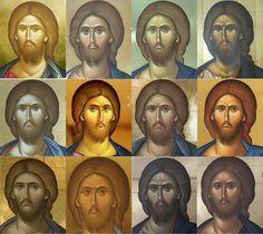 Studio volto Church Interior, Greek Art, St Michael, Christian Art, Religious Art, Fresco, Jesus Christ, Drawings, Painting