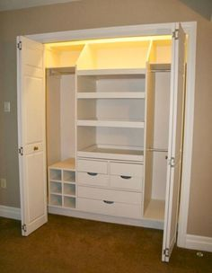 Long Narrow Closet Organization Home Office 54 Ideas Kid Closet, Closet Bedroom, Master Closet, Closet Space, Kids Bedroom, Closet Ideas, Wardrobe Ideas, Master Bedroom, Kids Rooms