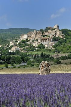 The village of Banon, France.