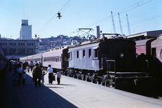 Rail Car, South America, Around The Worlds, American, Nostalgia, World, Train, Santiago, Parking Lot