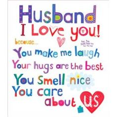 I thank God every day for my husband.... He is truly my match in every way