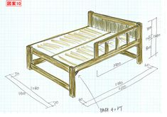 よくあるご質問とご要望 ひのきロフトベッド・ミドルベッド[ヒノキ・ワークス] Bed Measurements, Room Interior, Interior Design, Raised Beds, Toddler Bed, Kids Room, Furniture Design, Loft, Furnitures