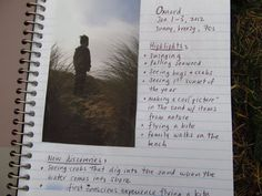 Family Adventure Journal - outdoors, nature, recording the fun.