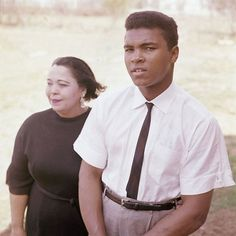 Muhammad Ali is seen with his mother, Odessa Grady Clay, April 2, 1963.