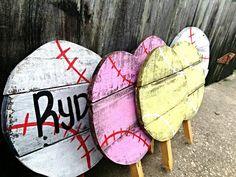 Softball Gift Softball Mom Baseball Yard Sign by PaePaesPlace