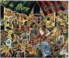 Jorg Immendorff : Peintre allemand néo-expressioniste.