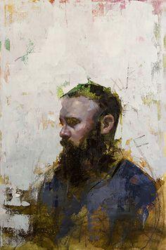 "Imprint No. 2 by John Wentz Oil ~ 30"" x 20"""