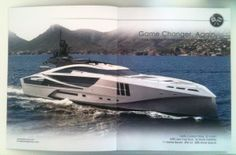 ShowBoats International Magazine Inside Cover, Double Page Spread - October 2012 - Present