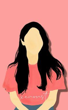 Portrait Illustration, Digital Illustration, Woman Illustration, Cover Wattpad, Art Antique, Minimalist Art, Aesthetic Art, Couple Aesthetic, Anime Art Girl