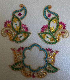 Paisley Drawing, Rangoli Designs, Beadwork, Brooch, God, Sewing, Drawings, Amazing, Creative
