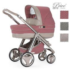 Dieser Babywagen stammt ebenfalls aus der neuen Prive Collection 2015. Das Modell Bebecar Ip-Op ist in drei verschiedenen Farbkombinationen erhältlich.