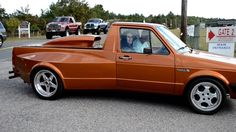 VW Rabbit Pickup Caddy drive by in HD - YouTube
