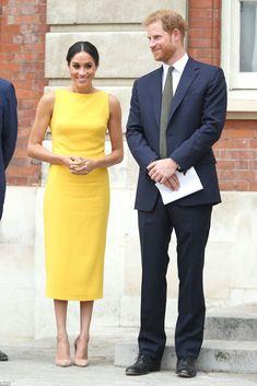 """Le duc et la duchesse de Sussex participent à la réception l'événement """"Your Commonwealth"""""""